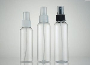 Hotsale Quaity Empty Transparent 100ml 120ml Spray Bottle White Top Watering Can Pet Plastic Vials Cosmetic Pac bbydqp soif