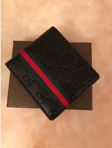 3 colors With Box Mens Wallet 2020 New Men's Leather With Wallets For Men Purse Wallet Men Short Wallet
