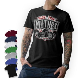 Verão camisetas T-shirt - Motard - Moto MOTO CHOPPER BOBBER OLDSCHOOL MC visseur personalizado T-shirt do esporte moletom com capuz Hoodie