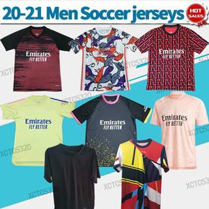 T-shirt d'entraînement des artilleurs A U B a M e Yang 2020 2021 Hommes Entraînement Jersey Jersey Jersey Gunner Shorts Shorts Pre-match Chemise de football Pre-match N'imprimez pas