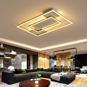 Golden led Hall Ceiling Lights Family Living Room Modern simple personality creative ceiling light Nordic light  bedroom lamps RW470