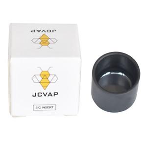 Lucidato carburo di silicio inserto SIC ceramica SIC SIC V3 per Puffpeak n Chazz Atomizer sostituzione di cera vaporizzatore polvere luminosa Jcvap
