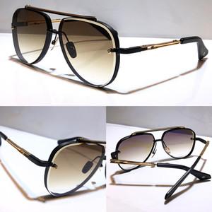 M oito Óculos de sol populares Homens Metal Vintage Vintage Unisex Sun Óculos de Moda Estilo Oval Frameless UV 400 Lens vêm com caso de qualidade superior