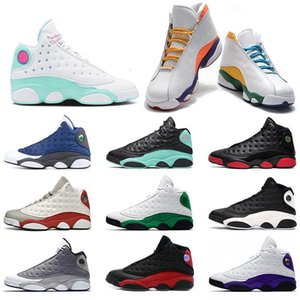 Men New Basketball 13 13s Jumpman Shoes Flint Reverse He Got Game Island Green Playground Mens Womens Trainers Sports Sneakers Size 3