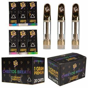 Cali Stecker Vape Carts Hologram Vape Cartridge Verpackung Caliplug 0,8 ml 1 ml Keramik Öl 510 Cartridges leeren Vape Pens Vaporizer