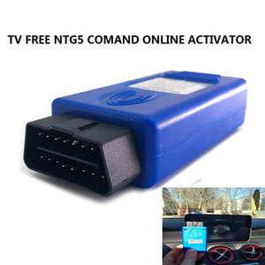 2020 TV Free NTG5 Comand Online AUX em vídeo em movimento Ativador OBDII para C / GLC / S / V W205 W222 W447 X253 OBD Tool1