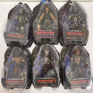 Predator Figura Celtic Masked Scar Boar Snake Guardião Predator Stalker Shaman Perdido Jungle Demon City Hunter Neca Alienígena Figura 1008