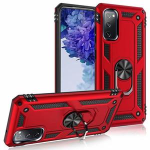 A prueba de golpes militares pata de cabra de teléfono del caso para Samsung Galaxy Note S20 FE 20 Ultra S20 A71 A51 A41 A31 A21 5G A21s A11 A01 A10 Core A30S A20S