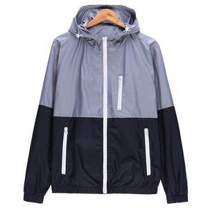 Giacche woqn Donne Primavera Nuova giacca di moda giacca da donna cappotto con cappuccio giacca di base casual sottile a vento a vento femmina outwear jk106