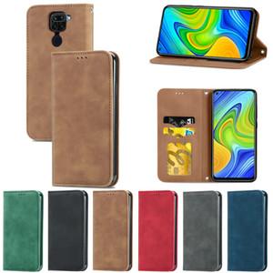 Flip Leather Case for Xiaomi Mi 10T 11 CCP Pro Poco M3 Wallet Cover for Redmi note 7 8 9 Pro 8T 9A 9C 9S 10X 7A Y3 K30 PRO Case Coque