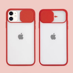 New PC Camera Frosted Protective Phone Case For iPhone 12 Mini 11 Pro XS Max XR X 6 6S 7 8 Plus SE 2020