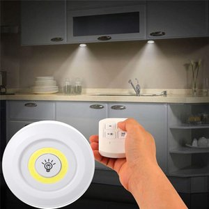LED Under Cabinet Light Indoor Tap Remote Dimmable Battery Book Table Night Lamp for Corridor Stair Kitchen loft Lighting
