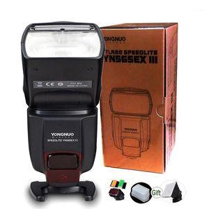 Flashes YONGNUO WirelessL Flash YN565EX III Camera Speedlite GN58 For DSLR 6D 1D 5D II IV 550D XS XSi XTi T2i1