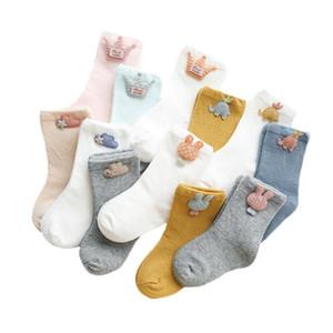 Lawadka 3pairs / серии Носки для Новорожденного хлопка младенческих носков для девочек осени вскользь Девочка Мальчик мультфильм Младенческого Носок 2020