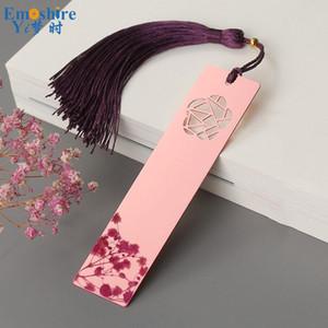 Brass Haute Qualité Classique Bookmark Métal Chinese Style Creative Bookmark Exquisite Antique Luxe cadeau personnalisé M107