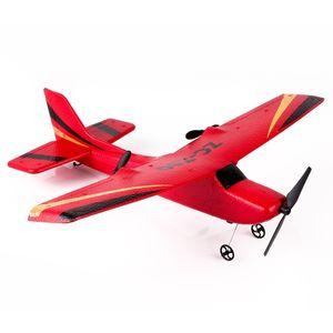Hiinst Z50 Gyro RTF Uzaktan Kumanda Uçaklar Planör 350mm Wingspan EPP Mikro Kapalı RC Uçak Komik Erkek Uçaklar 201103