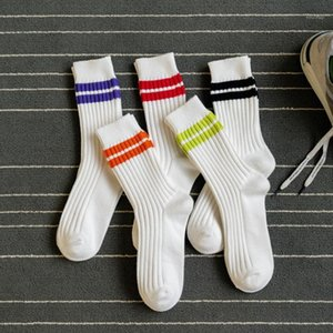Peonfly Men's Fashion Combed Cotton Striped Funny Happy for Men Harajuku Style Hip Hop Casual Comfort Socks1