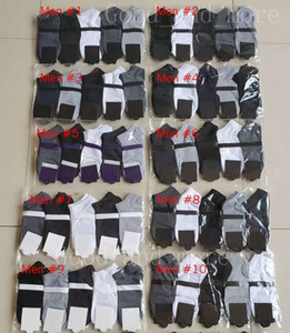 Ragazzo e ragazza Fashion Four Seasons Brevi calzini in cotone a colori solido traspirante e assorbente Assorbente Business Casual 5 Colore Calzini alla caviglia