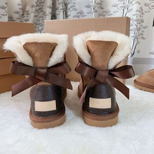 Top jointly Signed Genuine Leather Ankle Boots Women Kids Baby Tan Cow Split Brown Flower Style Shoes Boot Women And Kids All Size