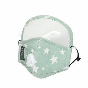 Kapak 2 Tam Yüz Baskı 1 Maske Nefes Qwdu Maskeler 4styles PM2.5 Çocuklar FFA4192-5 Pamuk Açık Yıldız Koruyucu Çocuk Ağız Vana Cj Nern