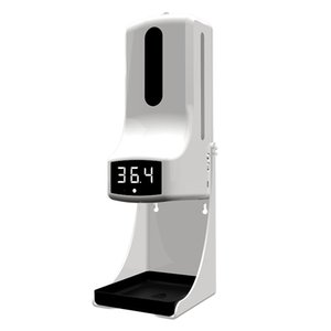 Integrated Non-contact Smart Measure instrument with Automatic Soap liquid Dispenser K9 Pro Infrared Sensor Hand Sanitizer
