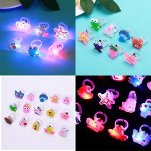 ANNELLE LED ALLEMENT JOUEAUX AIONS DE L'AION DE L'AILE DE LA LUMIÈRE Bagues Dessin animé Luminescence Enfants Petites jouets Factory Direct Vente 0 55Y P1