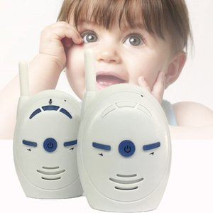 V20 2.4GHz Wireless baby cry detector Portable Digital Audio Baby Monitor Sensitive Transmission Two Way Talk Crystal Clear Cry