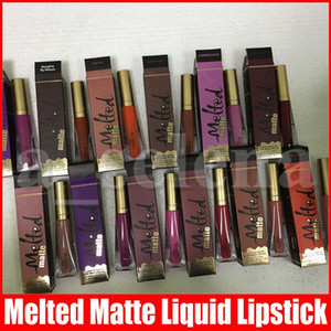 Lips Maquiagem Lip Gloss derretido Matte Limited Edition Lipsticks Lipgloss Liquidificado Matte Longo Wear Liquid Batom