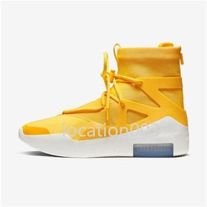 2020 high quality light bone black orange shoes new men and women fashion fog boots air cushion casual sports shoes