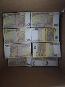 HOT SPASS SIMULATION Game Euro Toys Banknotes Banknotes Banknotes Banknotes 200 01 Monnaies de bricolage Euro Jeux Vente de la dénomination des enfants Qobdh