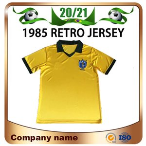 1985 레트로 에디션 브라질 축구 유니폼 1985 월드컵 브라질 홈 축구 셔츠 2002 월드컵 브라질 축구 유니폼 판매