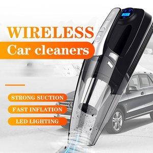 4 в 1 Auto Pucuum Cleaner Handheld Wash Pubuum Cleaners Указатель и цифровой автомобильный очиститель