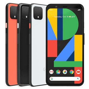 Refurbished Original Google Pixel 4 5.7 inch Octa Core 6GB RAM 64 128GB ROM Android 10 Unlocked 4G LTE Smart Mobile Phone Free DHL 1pcs
