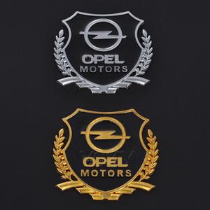 Car Stickers MOTORS Emblem Badge VIP Decals for Opel Astra Zafira Antara Corsa Combo Meriva Insignia R Aglia Mokka X Adam Ampera