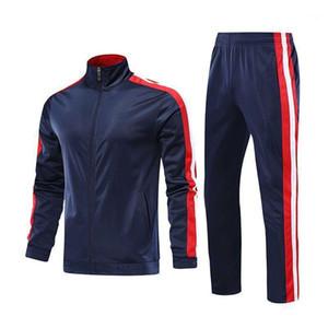 Мужская трексуита набор двух частей трексуита мужская спортивная одежда мода колокольчик бег трусцовый костюм осень зима мужчин наряда тренажерный зал одежда1