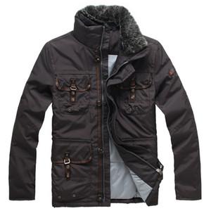 2020 Doudoune Peuterey Италия Mens Homme Марка вниз Подробнее Uniform карман с Съемным меховым воротником пуховик пальто