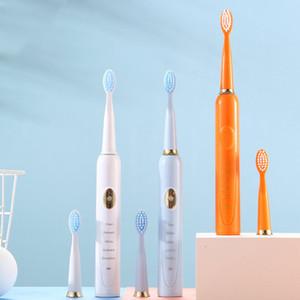 IPX7 водонепроницаемый перезаряжаемый Смарт Соник Мягкие и гибкие провода щетиной Electric Toothb Kemei Взрослые Cn (происхождение) CE