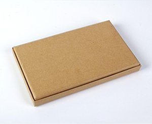 Kraft paper high quality shipping box for phone cases for iPhone 7 7plus with logo design