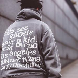 Automne et hiver Nouveau Pull à capuche imprimé Graffiti Hommes et Femmes Lâche Casual Capuche et marée de veste en molleton