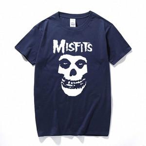 nouveau punk-hip hop hommes crâne Misfits T-shirt à manches courtes de coton de marque marve Y200409 47e7 de #