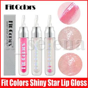 Fit Renkler Dudak Makyaj Jöle Dudak Parlatıcısı Nemlendirici Parlak Yıldız Glitter Sıvı Ruj Temizle Lipgloss Dudak Tombul Yağı