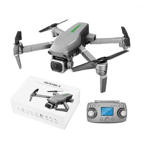 RC كوادكوبتر L109 طائرة بدون طيار GPS 5G 4K HD كاميرا wifi fpv فرش المحرك طوي selfie cont1