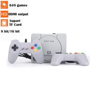 648 Controller giochi retrò gioco classico Dual Console 8-bit console Mini HD Home TV NES Sega FC console di gioco di TF di sostegno scheda di espansione