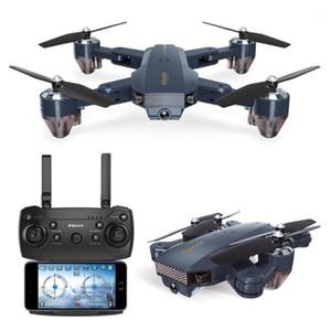 RCTOWN RC DRONE FQ777 FQ35 WIFI FPV con 720p Cámara HD Altitud Modo de espera Plegable RC Drone Quadcopter RTF-0.3MP con batería1