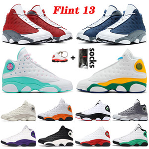 JUMPMAN 2021 New Flint 13 13s Soar Green Hyper Royal Playground Starfish Reverse Game Basketball Shoes Chicago Men Women Trainers Sneakers