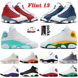 Jumpman 2021 New Flint 13 13s Power Green Hyper Royal Playground Starfish Reverse Игра Баскетбольные Обувь Чикаго Мужчины Женщины Тренеры Кроссовки