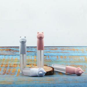 Cute Cat Empty Lip Gloss Bottle Makeup DIY Lip Glaze Tube 3ML Cosmetics Refillable Container WB2873