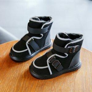 FNBN Shipping Kids Fashiongirls Chaussons Chaussons pour fourrure d'hiver à l'intérieur des bottes chaudes Davidyue gratuit