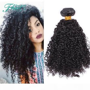 "9A Indian Curly Hair 3 Bundles Kinky Curly Hair Weaves Natural Black 10""-30"" Length brazilian virgin Hair Extensions On Sale"