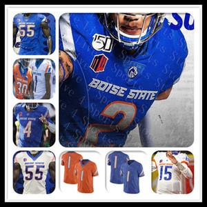 Custom 2021 Boise State State College Football Jerseys Hank Bachmeier Andrew Van Buren Khalil Shakir Riley Blousque Jack Sears CT Thomas Irwin